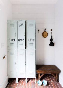歐式田園風格置物柜圖片