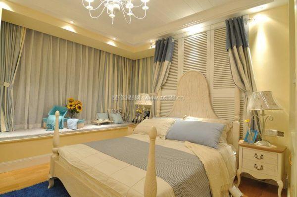 地中海房屋卧室飘窗设计图