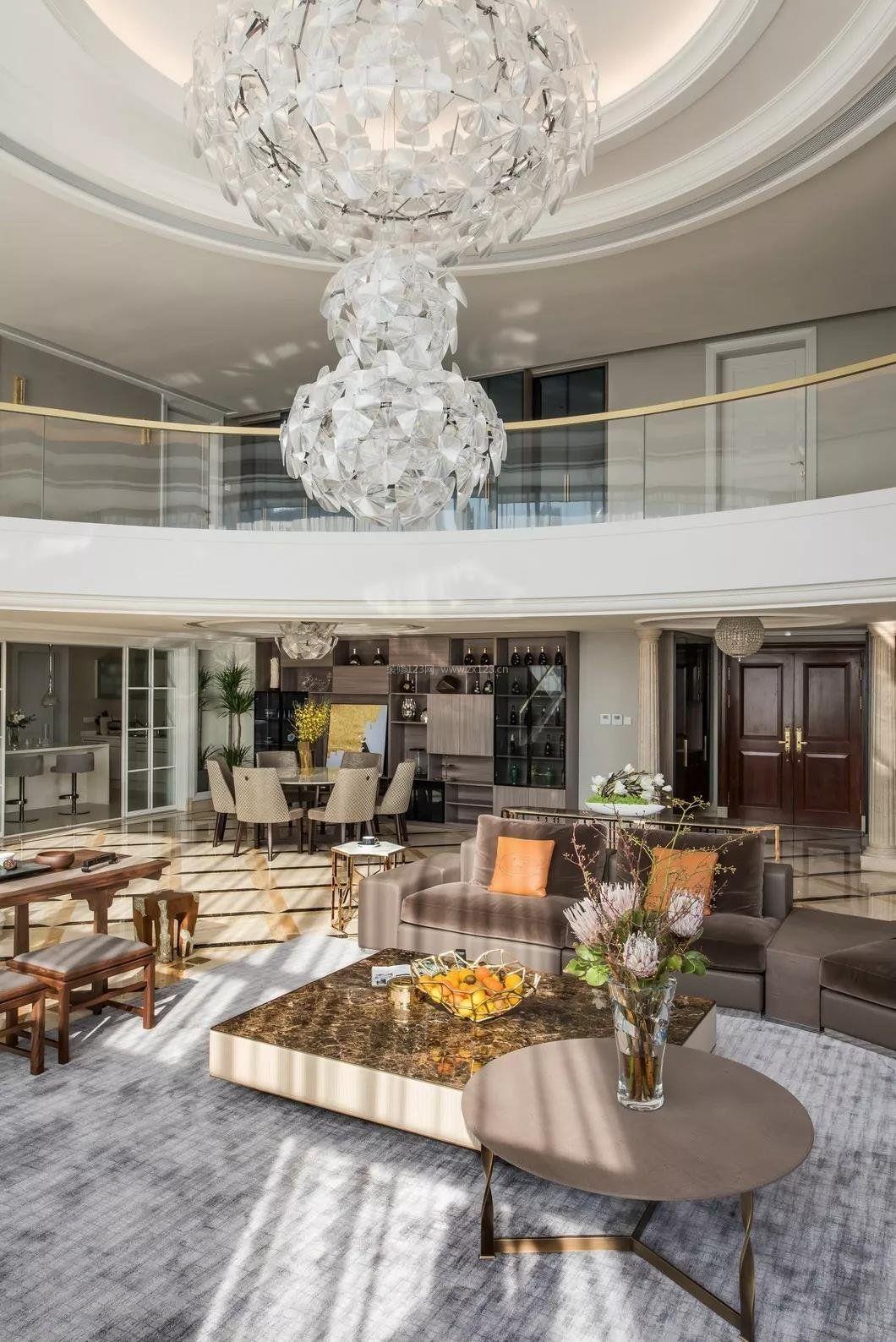 2018豪宅别墅家装客厅装修效果图