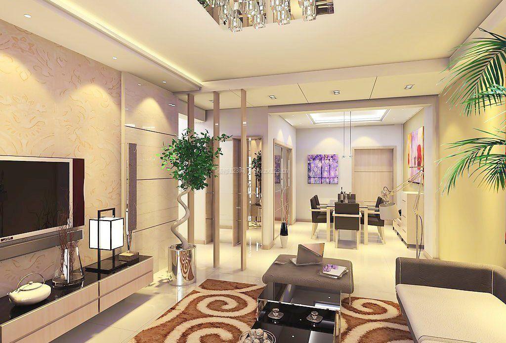 2018豪宅别墅现代客厅装修