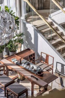 2018豪宅別墅庭院茶室設計
