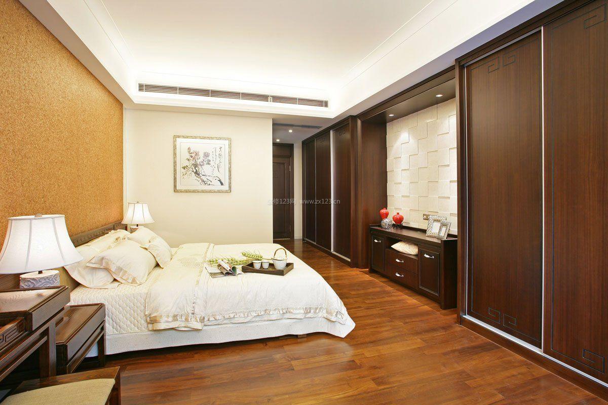 卧室实木地板 效果图