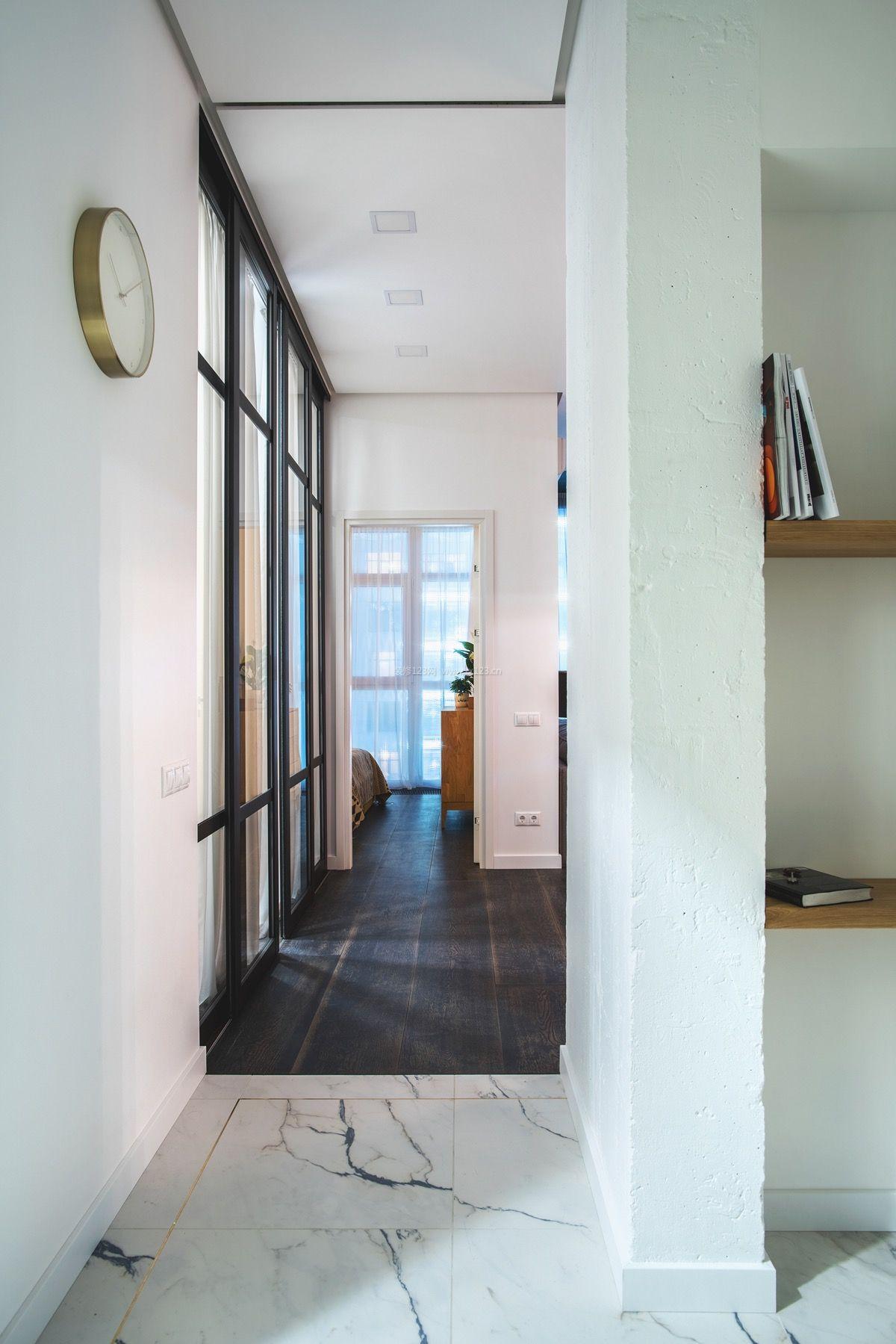 2018现代北欧简约过道走廊装修效果图片图片