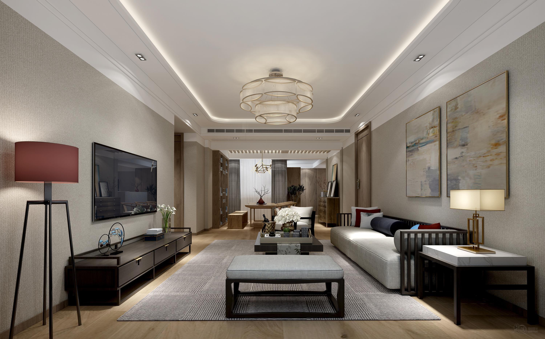 2018女儿房间布置图片大全 现代新中式风格装修效果图
