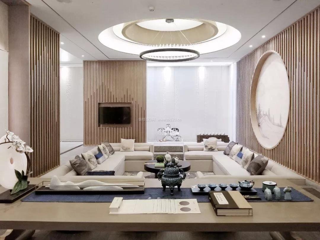 2018北京高档别墅下沉式客厅图片图片