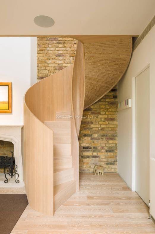 2018木结构旋转楼梯设计