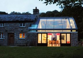 玻璃屋顶 效果图
