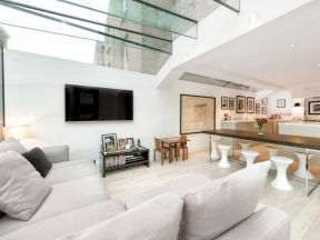 2018家庭客厅玻璃房顶图片图片