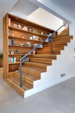 2018木结构楼梯室内设计效果图