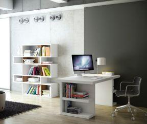 家具書架 家庭辦公室裝修圖