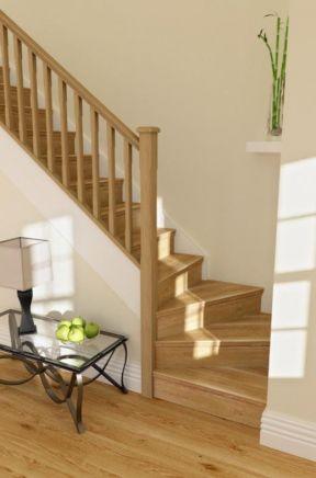 木结构楼梯设计