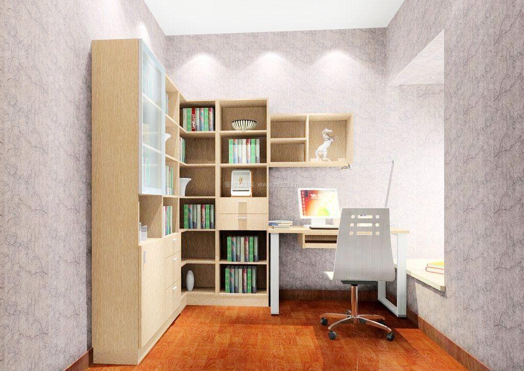 家装效果图 2018转角书柜装饰效果图 提供者:   ← → 可以翻页