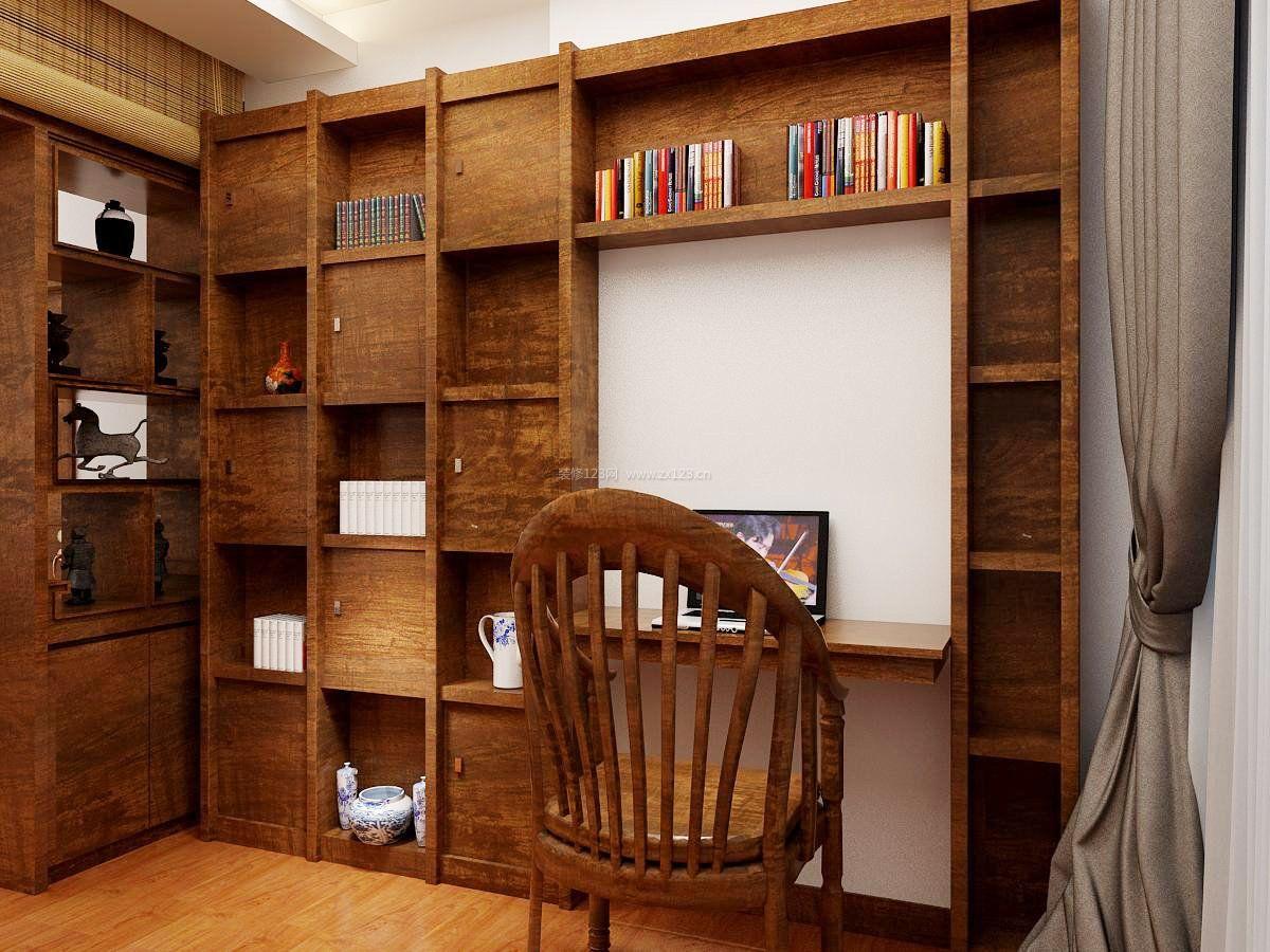 家装效果图 中式 2018中式实木书柜装修效果图 提供者:   ← → 可以
