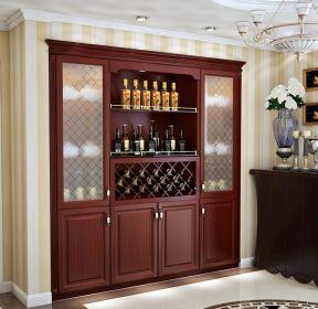 高清欧式客厅装修效果图 电视柜客厅效果图 客厅现代酒柜图片大全