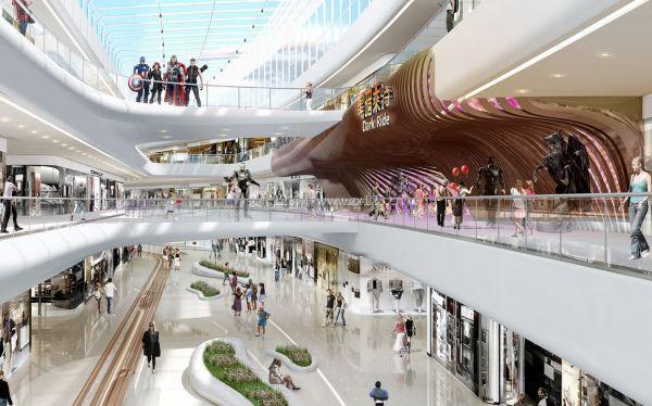 郑州商业街设计还是找广东品牌天霸设计好
