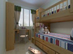 简欧家居儿童房高低床装修效果图片图片