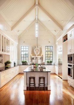 经典小别墅斜顶厨房设计图片图片