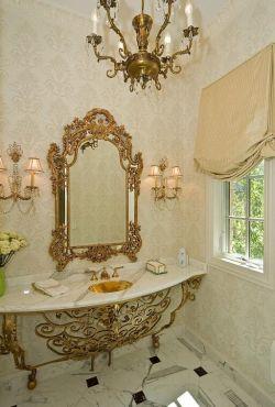 2018美式浴室洗手臺鏡前燈設計圖片