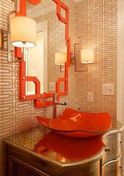 洗手臺盆柜鏡前壁燈設計圖片
