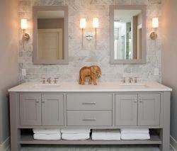 洗手間鏡前燈設計圖片