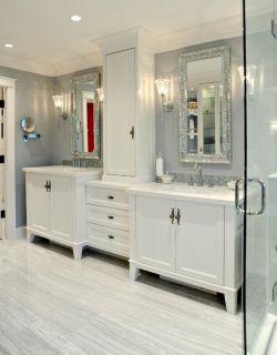 洗手臺鏡前燈圖片設計大全