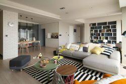 2018现代北欧风格宜家客厅装修效果图片