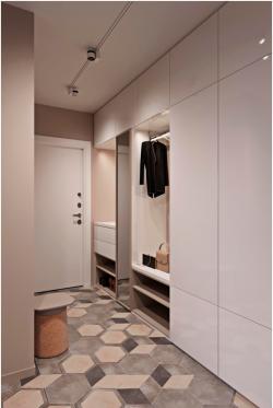 现代门厅入户玄关鞋柜装修效果图图片