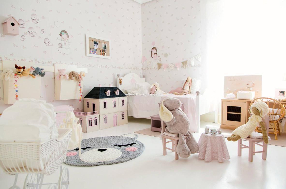 小清新装修风格效果图 卧室