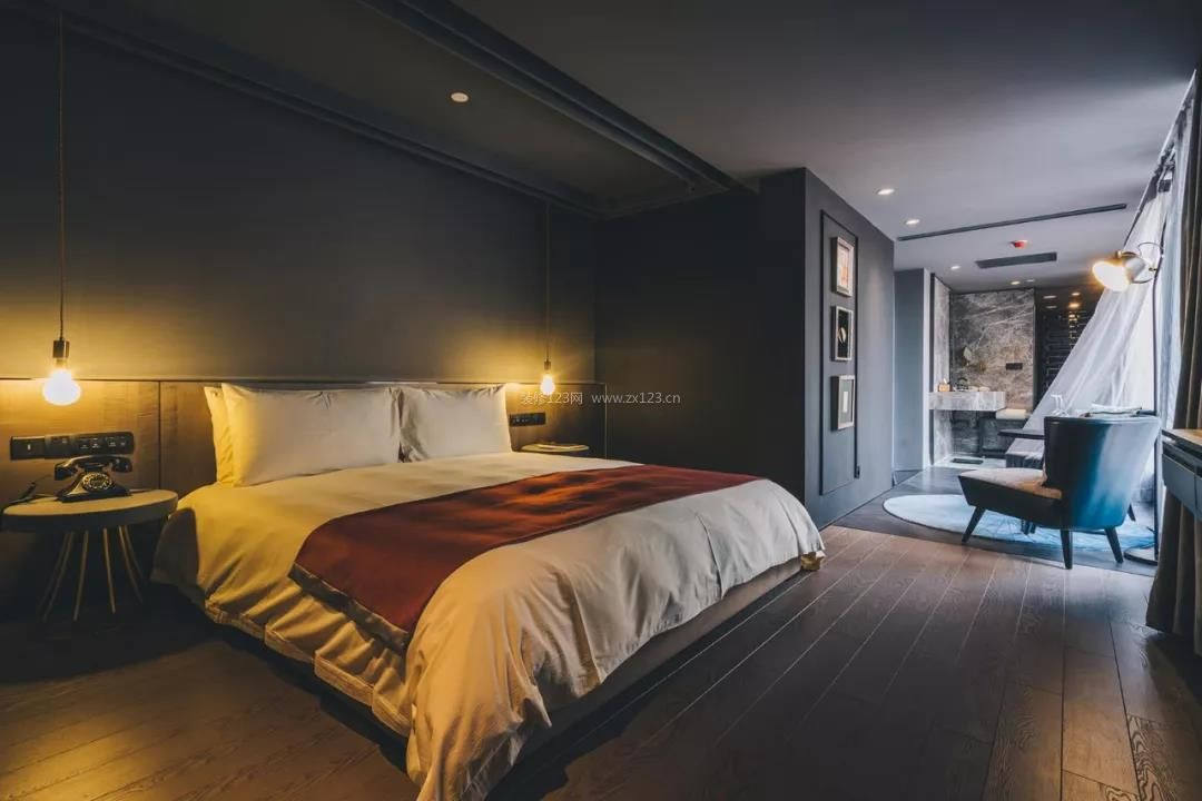 2018高档酒店套房室内装饰图片图片