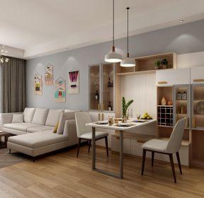 家居飯廳折疊餐桌設計圖-每日推薦