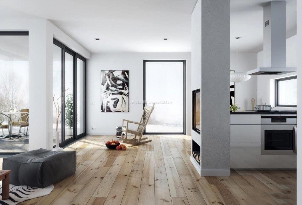2018北欧室内设计风格室内地板效果图