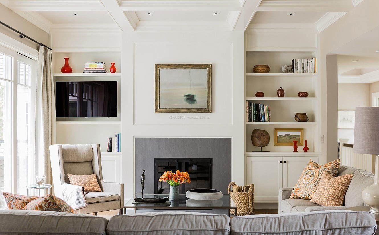 2018北欧室内客厅简约设计风格_装修123效果图图片