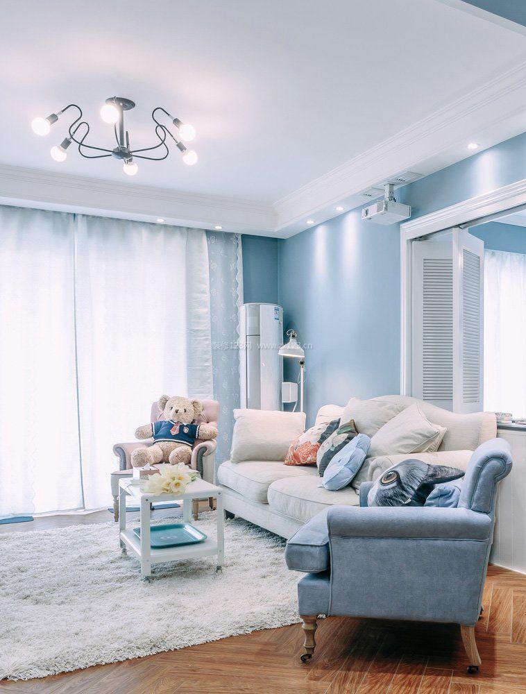 2018北欧室内设计风格客厅沙发摆放