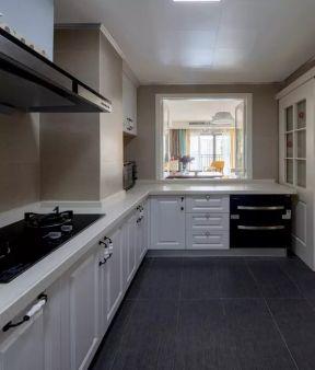 2018厨房橱柜推拉门效果图-装修123网效果图大全