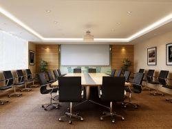 金融公司會議室效果圖案例