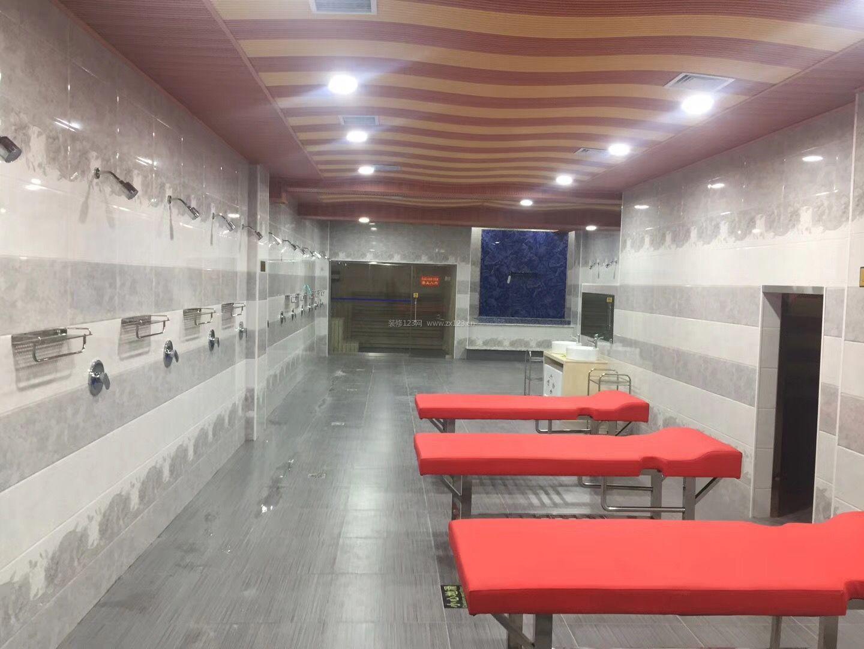 2018大众洗浴中心吊顶设计装修效果图片