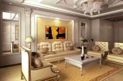 歐式風格126平米三居室