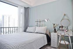 现代北欧风格家装卧室床头灯效果图图片