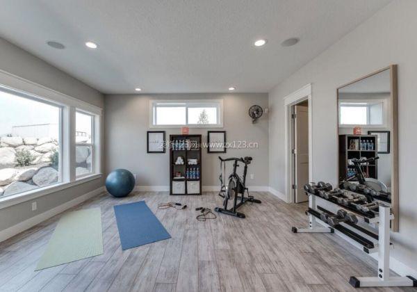 健身房瑜伽房装修设计效果图