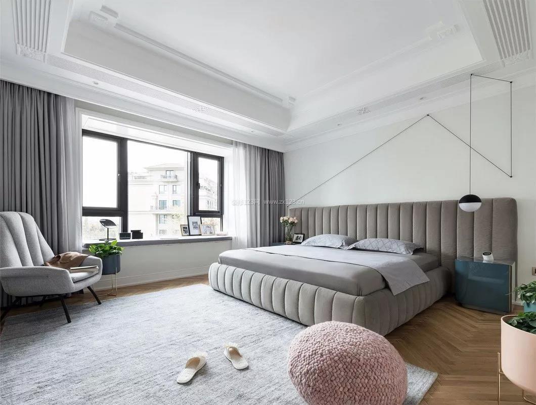2018家装现代简约风格卧室设计效果图