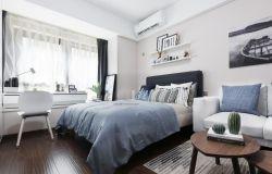 北歐臥室床頭背景墻設計圖片