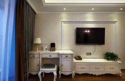 简欧式卧室电视背景墙装修效果图