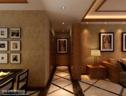 青特城135㎡中式風格三居室案例