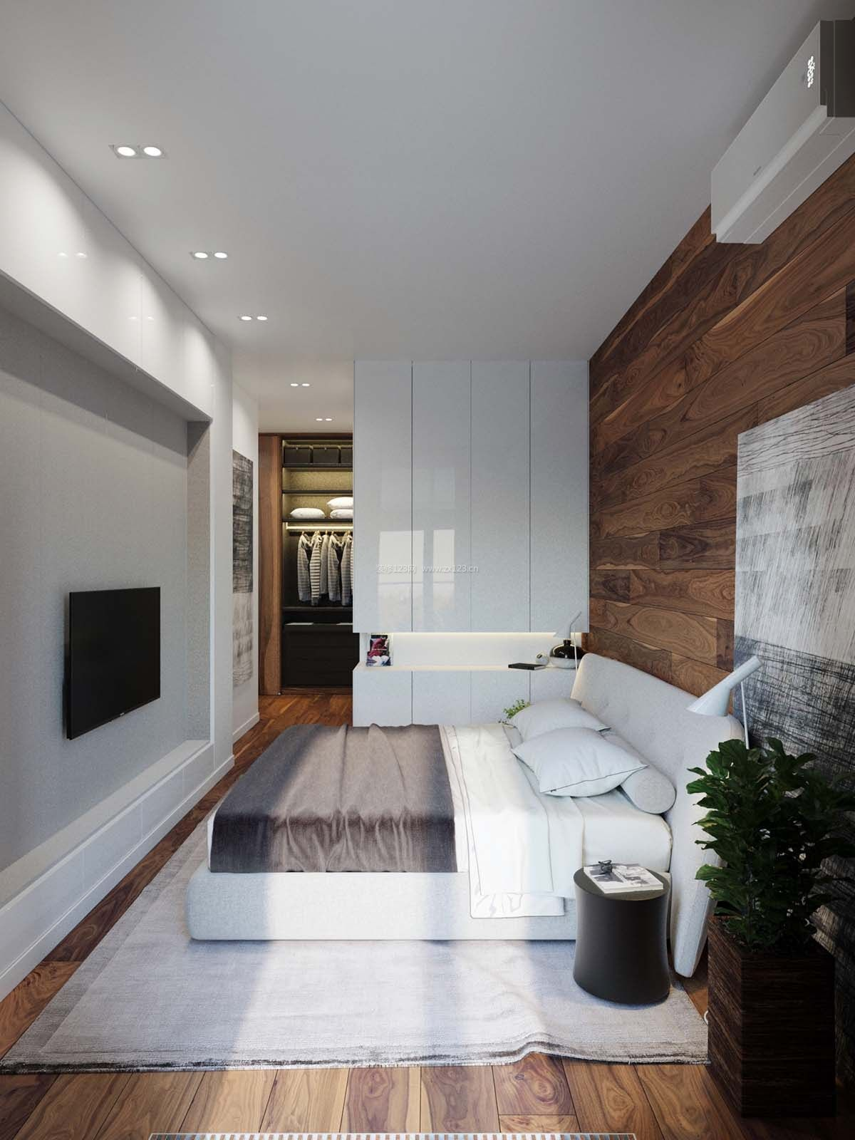 昆明小户型单身公寓装修案例