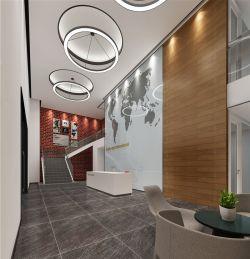 成都1000平辦公室裝修設計