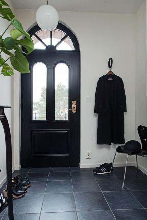 北歐裝修風格圖片 黑色門框裝修效果圖片