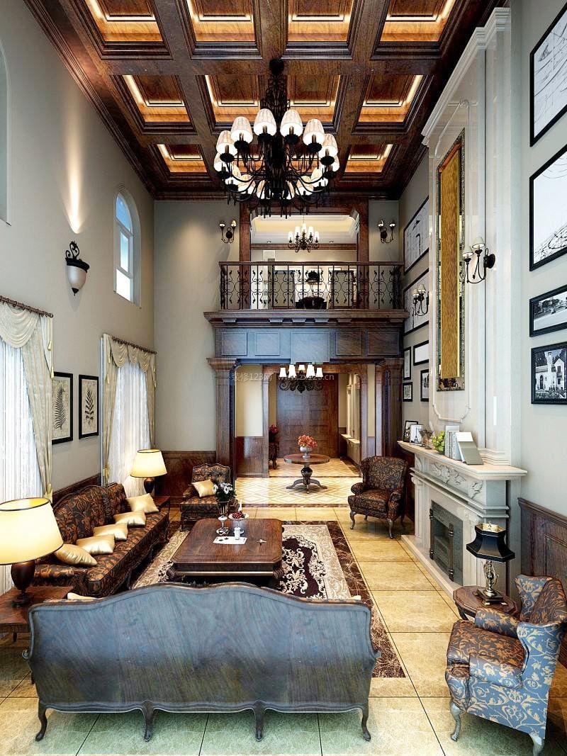 家装效果图 欧式 2018欧式奢华风格客厅木质吊顶装修设计图 提供者图片