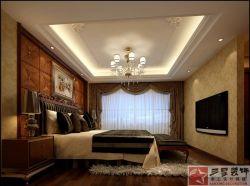 泰禾紅樹林152平歐式風格裝修案例