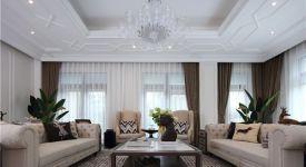 天津客厅吊顶设计 客厅吊顶用什么材料最好