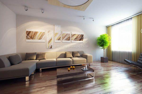 客厅沙发背景墙设计图片